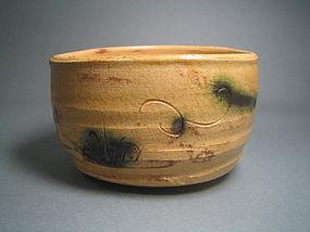 Ki-seto Chawan by Suzuki Goro (1139)