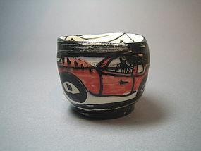 Los Oribe Guinomi by Suzuki Goro (G40)