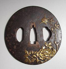 Edo Period Maru-gata Tsuba