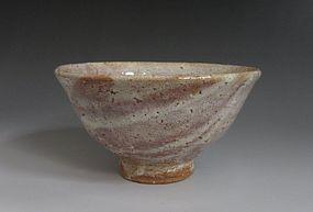 Hagi Chawan by Tamamura Shogetsu