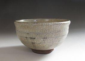 Edo Period E-karatsu Chawan