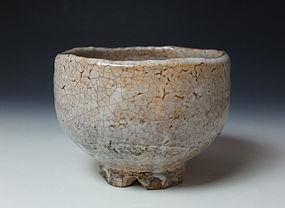 Hagi Chawan by Morishima Kazunobu