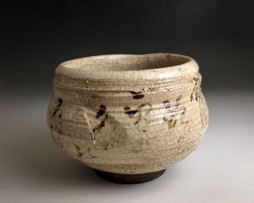 Edo Period E-seto Chawan by Kato Shungyo