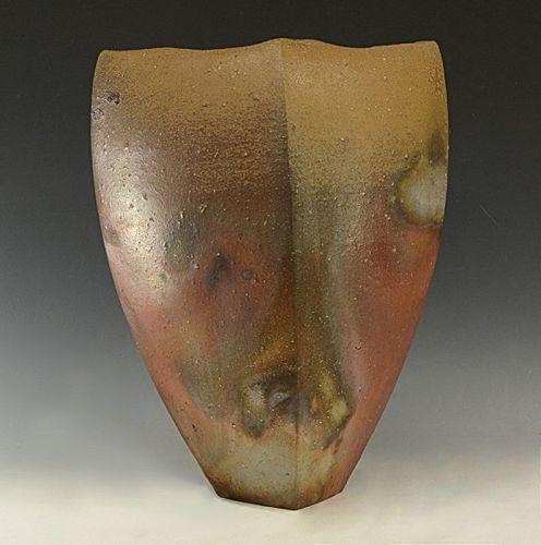 Bizen Vase by Kakurezaki Ryuichi