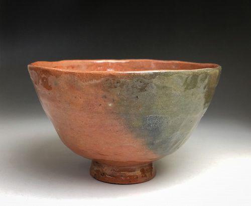 Edo Period Aka-raku Chawan