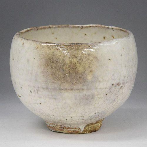 Oni-hagi Chawan by Miwa Kyusetsu XI, LNT (c)