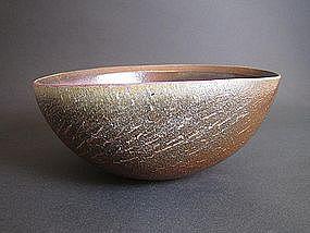 Large Bizen Hachi by Ema Hiroshi