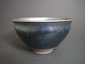Nogime Tenmoku Chawan by Unokawa Kazumasa