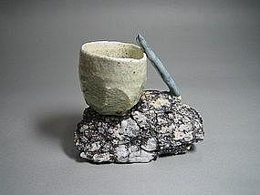 Rock & Clay Objet by Suzuki Goro (f)