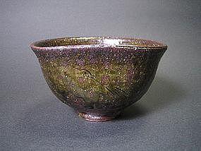 Tamba Tachikui Chawan by Sugihara Yoshihiro
