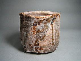 Shino Chawan by Suzuki Goro (c)