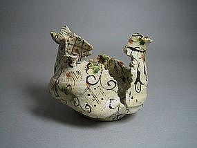 Yashichida Vase by Suzuki Goro