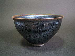 Tenmoku Chawan by Unokawa Kazumasa (h)