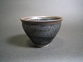 Tenmoku Yunomi by Unokawa Kazumasa (j)