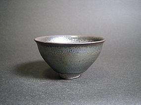 Tenmoku Guinomi by Unokawa Kazumasa (l)