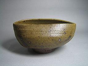 Tsurusatode Chawan by Yoneda Mantaro