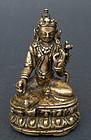 Antique, small, rare bronze image one of 21 Taras