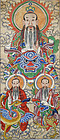Daoist divinity Yuanshi Tianzun. Late Qing