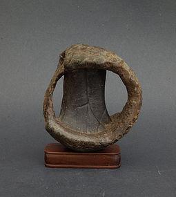 A very unusual suiseki Japanese viewing stone