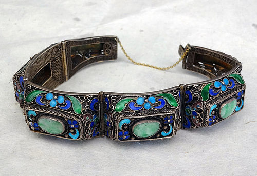 Early 20th cent.  Chinese silver bracelet