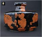 Large, powerful vase by Masao Moriyama