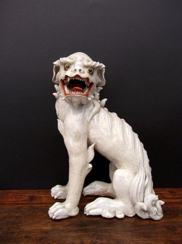 Large and impressive SHISHI LION, EDO
