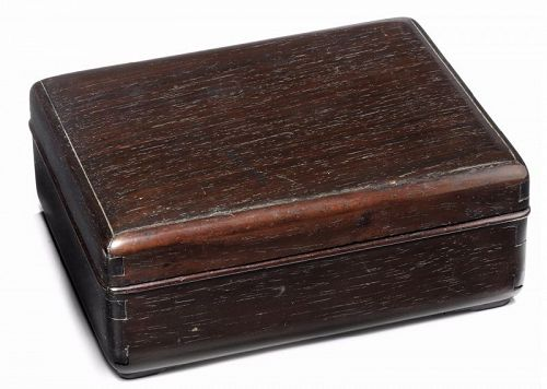 Chinese Hardwood Seal Box for the Scholar�s table