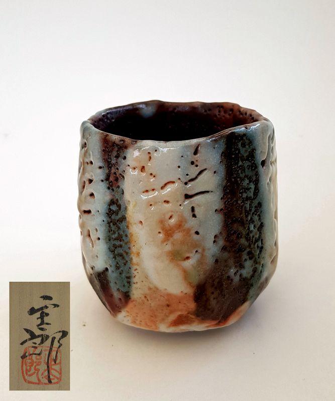 Hayashi Shotaro Shino Yunomi Tea Cup