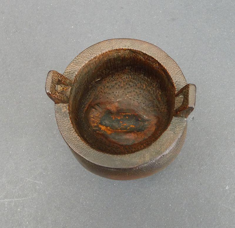 Chinese Rare Bamboo Incense Burner (zhudiao xianglu )