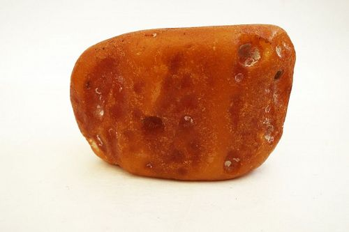 Natural Amber Lump of the Highest Quality, 175 grams.
