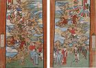 A pair of Daoist painting for use in �Jiao� rituals. Qing, 19th cent.