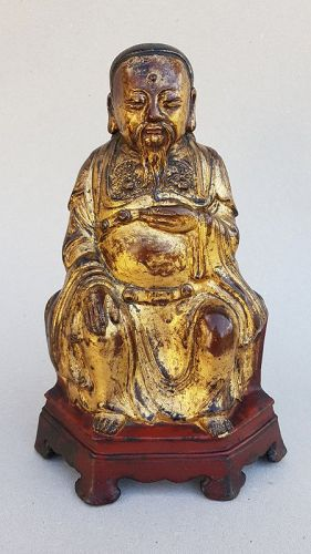 Bronze Figure Of ZHENWU, the Perfect Warrior Ming Dynasty (1368-1644)