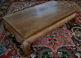 18th C. Chinese Kang Table ex-Effie Allison