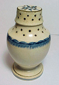 Leeds Type Pearlware Muffineer - c. 1800