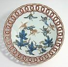 Reticulated Ko Imari Matsu ni Tsuru Bowl c.1730-60