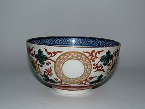 Fine Ko Imari Lotus and Ring Pattern Chawan c.1720 No2