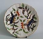 Chelsea Derby Chestnut Pattern Moulded dish c.1775