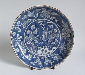 Ko Imari Kigisu-zu Plate c.1780