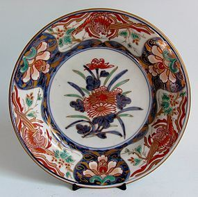 Imari Hoo birds and Kiri flower Plate c.1730 No 2
