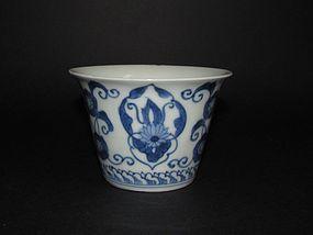 Fine Ai Kakiemon Hosoge-mon Beaker c.1700