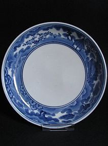 Arita Go Players Dish c.1680 No 2