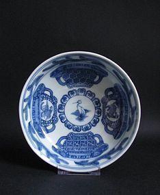 Ko Imari Koro zu Dish Meiwa c.1780