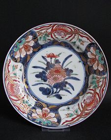 Imari Export Hoo birds and Kiri flower Plate c.1730 No 1