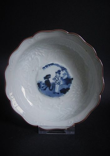 Ko Imari Kakiemon style Namban Bowl c.1770