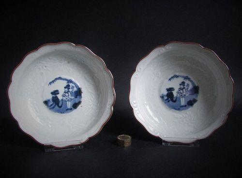Pair of Ko Imari Kakiemon style Namban Bowls c.1770