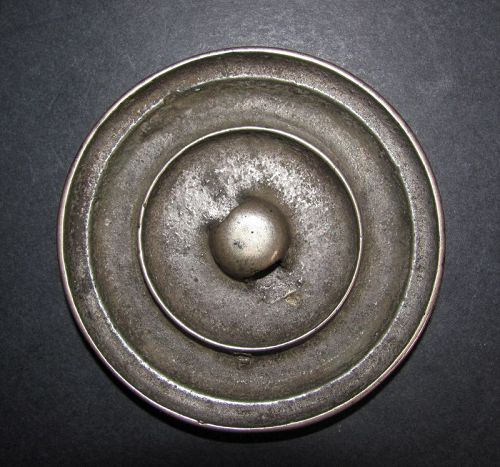 Small Chinese Bronze Mirror Song
