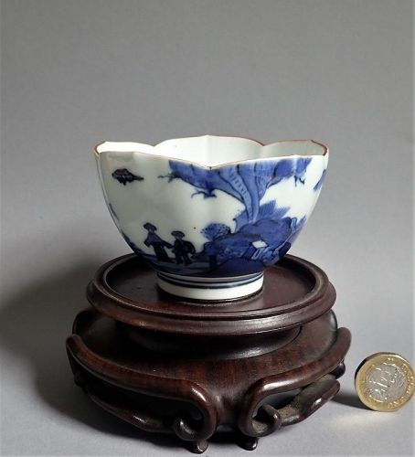 Rare Kakiemon Deshima (Scheveningen) Van Frytom Lotus Bowl c.1700 No 1