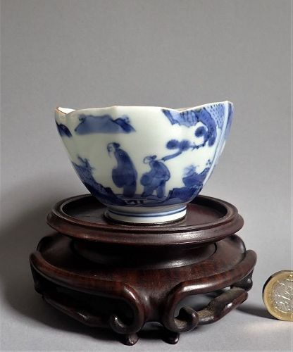Rare Kakiemon Deshima (Scheveningen) Van Frytom Lotus Bowl c.1700 No 3