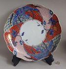 Large Ko Imari Kiri ni Hooh Nishiki-de Charger Late Edo Early 19C