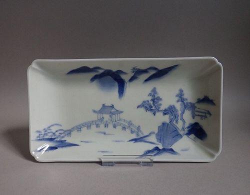 Nabeshima Sansui Landscape Nagazara Late Edo